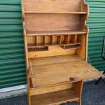 Solid Wood 4 Shelve Laptop Desk/Secretary
