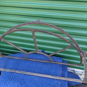 Photo of Vintage Heavy Cast Iron/Metal Transom Tilt Window Frame