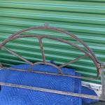 Vintage Heavy Cast Iron/Metal Transom Tilt Window Frame
