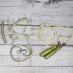 Vintage Jump Rope Exercise Pulley Equipment