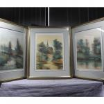 Set of 3 Artist Antonio Rivera Signed and Numbered Lithographs