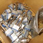 Lot of 45 Master Locks and Keys