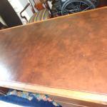 Helikon mid-century modern executive desk