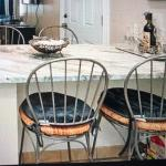 (4) Pier 1 - Bar/Counter stools with brand new cushions