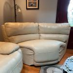 4 Pc Leather Sectional Livingroom St