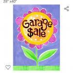 garage sale 6626 Fenwick Dr 930 to 130