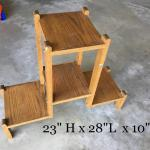 wood stand. shelf.
