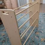 Quilt Rack, Blond Wood