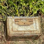 """""""Outdoor"""" Reclaimed Rustic Ammo Box Planter"""