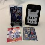 [150] Three Tom Brady Football Trading Cards | TOPPS | Panini