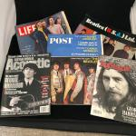 Lot of 5 Vintage Beatles Magazines incl. Life Post Rolling Stone Guitar World Be