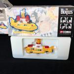 Lot of 4 Beatles Corgi Classics Limited 1997 Yellow Submarine Bus Taxi Cab and B