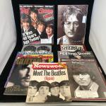 Lot of 10  Vintage Beatles Magazines feat George Harrison John Lennon Ringo Star