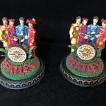 Pair of Beatles Sergeant Pepper Lonely Hearts Club Band Music Dome