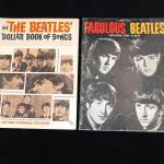 Pair of 1963 1964 Beatles Music Book of Songs