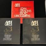 Lot of 3 Avant Garde John Lennon's Erotic Lithographs Wedded Bliss