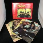 The Beatles Post Art 11 x 14 inch Print Set of 6 Images