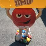large 42 inch  m and m