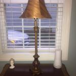 """Decorative Lamp - 31"""" tall includes Shade"""