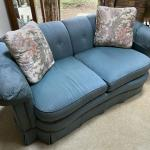 Love Seat Green Two Person