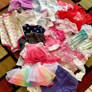 Photo of Baby newborn girl clothes 60 + items