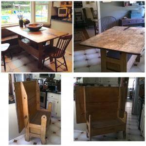 Photo of Antique farm table