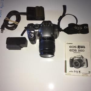 Photo of Canon Digital Rebel Camera EOS 300 D