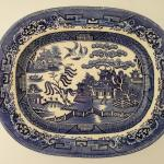 Antique Staffordshire Stone China Plate