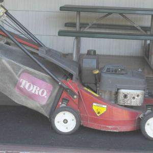 """Photo of 21"""" Toro Commercial Lawn Mower"""