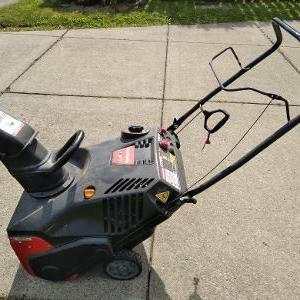 Photo of Single stage snow blower