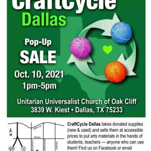 Photo of Craft Cycle - Creative Reuse sale for craft items.