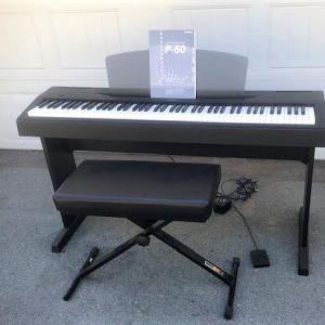 Photo of Yamaha Electric Piano Model P-60