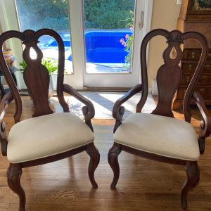 Photo of Two Queen Anne Chairs