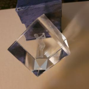 Photo of Shot glass. Bud light. Golfer prism