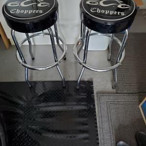 Photo of Orange County chopper bar stools