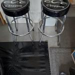 Orange County chopper bar stools