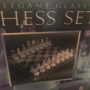Photo of Glass Chess Set
