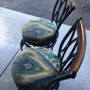 Photo of Swiveling Bar Chairs