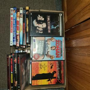 Photo of 114 dvds