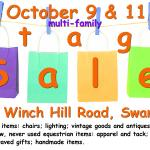 Tag Sale October 9 and 11