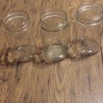 Antique pint jars
