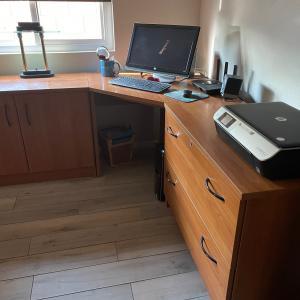 Photo of Danish Teakwood Office Furniture