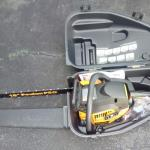 """Poulan 18"""" Pro chain saw, little used, model PP4218AVX, 42cc with case"""