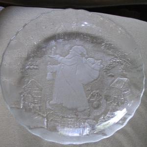"Photo of St. Nicholas 13"" Christmas Platter"