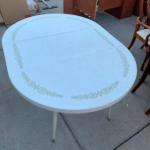 Photo of Vintage Kitchen Table with Leaf