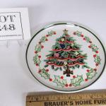 Vintage Lefton Christmas Tree Plate