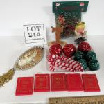 Misc Lot of Christmas Ornaments