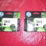 HP Ink 564XL Black (2 ct.)