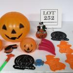 Lot of Misc Plastic Halloween Decor