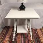 1910 parlor table recreated w/chalk paint